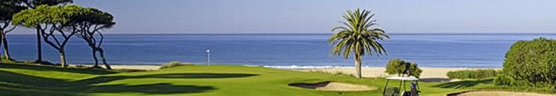 Algarve, the Ocean golf course, part of the Vale do Lobo Resort