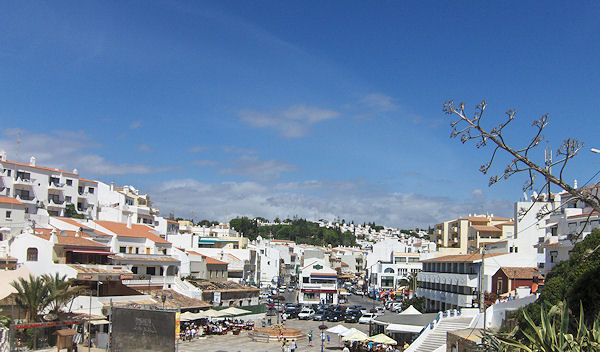 Carvoeiro Village panoramic view