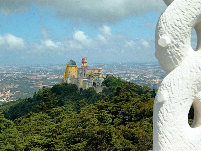 Pena Palace viewed from Cruz Alta