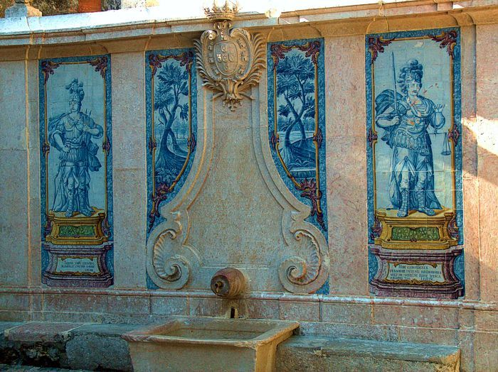 Pipa Fountain in Sintra