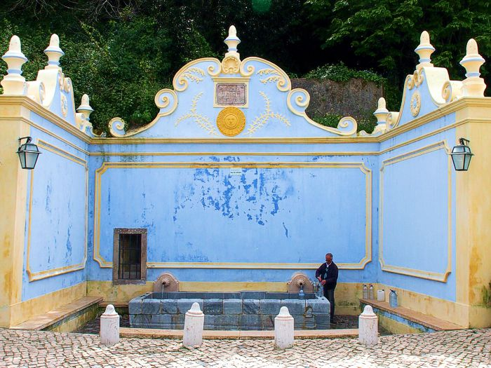 Sabuga Fountain in Sintra