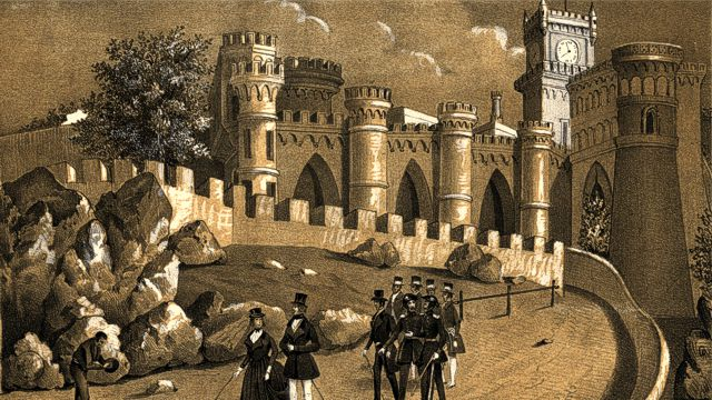 Pena Palace around 1843