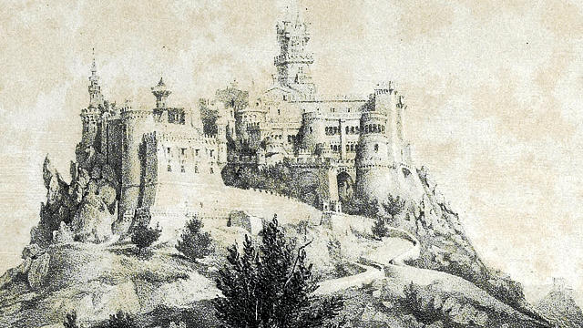 Pena Palace in 1850