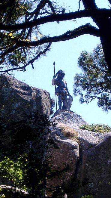 Pena Park Statue of the Warrior