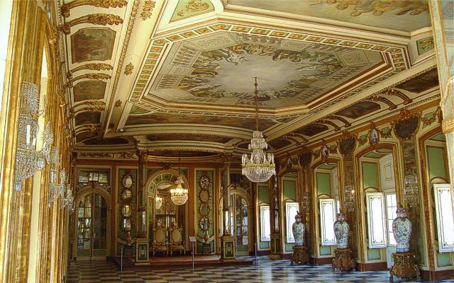 Hall of the Ambassadors of Queluz Palace