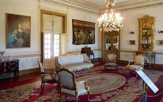 Archers' Room of Queluz Palace