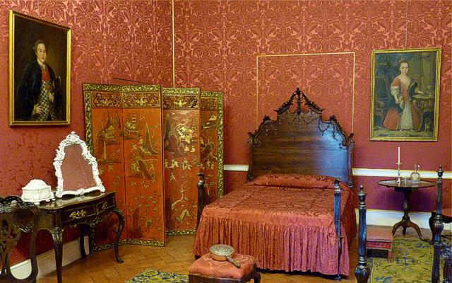 King José Style Bedroom of Queluz Palace
