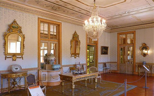Dining Room of Queluz Palace
