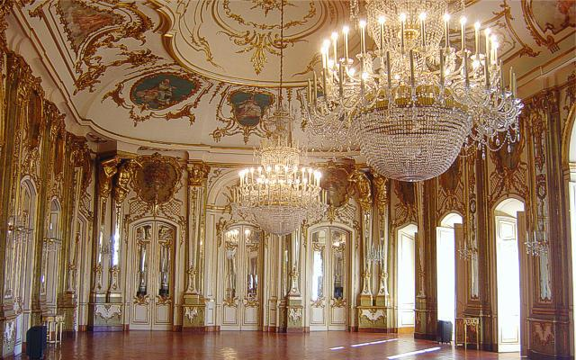 Throne Hall of Queluz Palace
