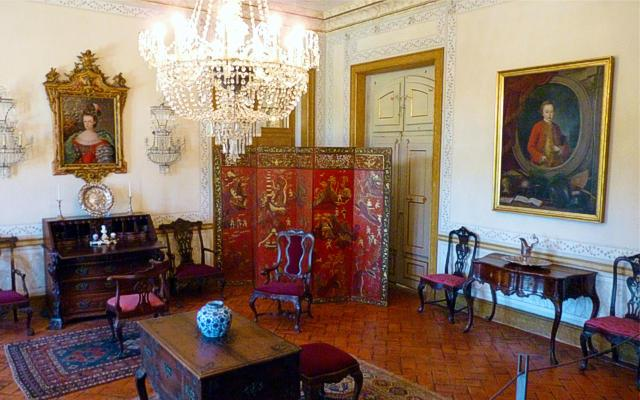 Torch Room of Queluz Palace