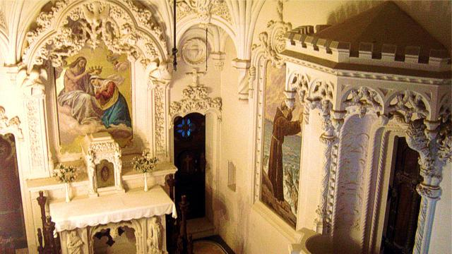 Interior of the Chapel of the Quinta da Regaleira
