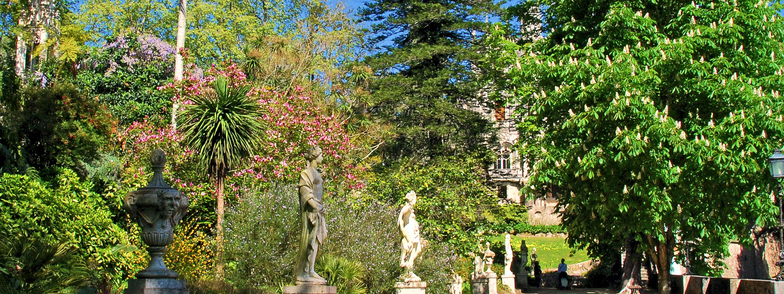 Gods Promenade of the Quinta da Regaleira