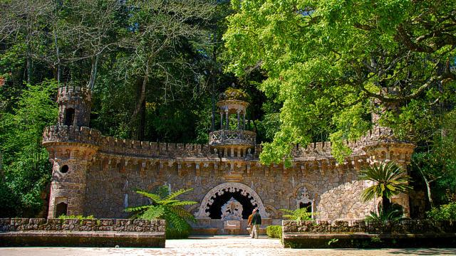 Portal of the Guardians at the Quinta da Regaleira