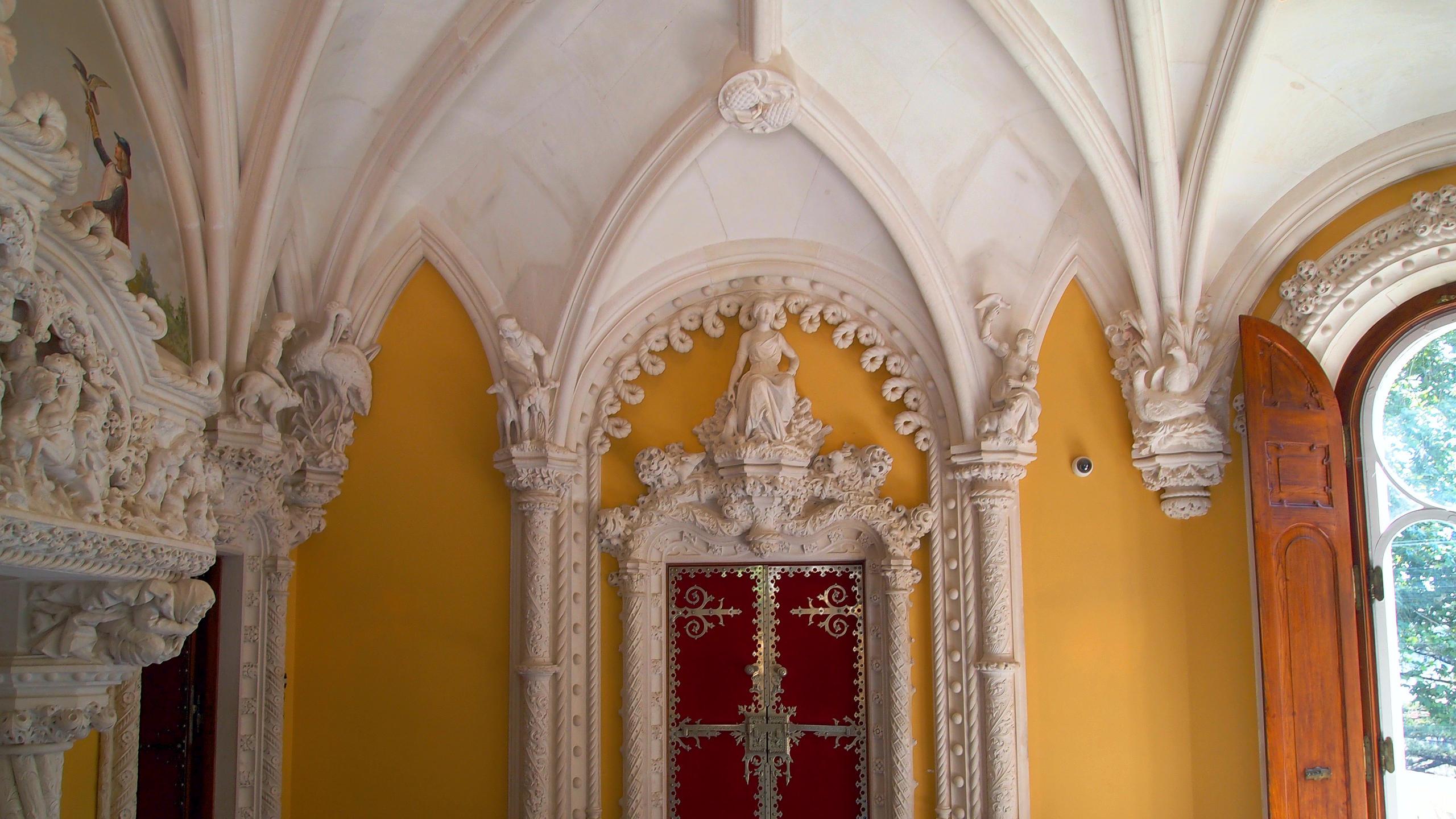 Palace And Quinta Da Regaleira Sintra Portugal