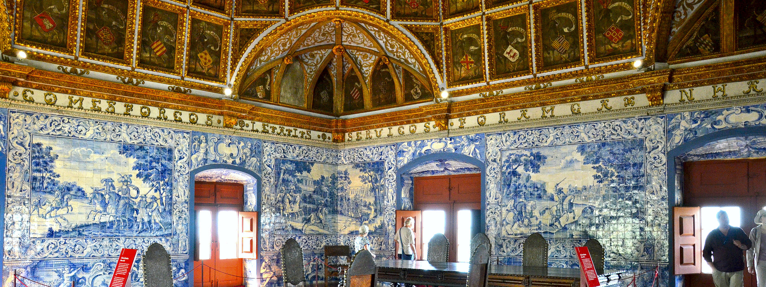 Coat of Arms Room in the Sintra National Palace