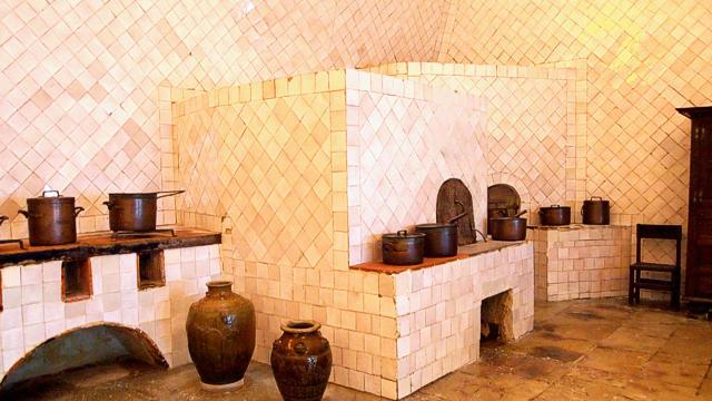 Kitchen of the Sintra National Palace