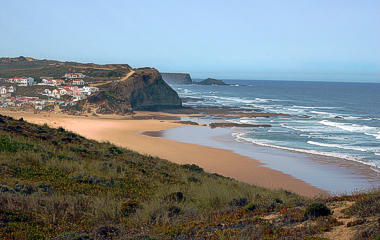 Praia do Monte Clérigo Beach