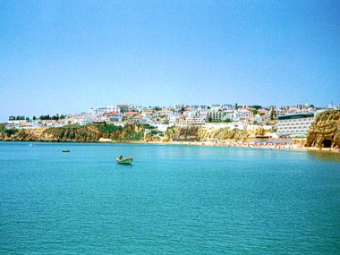 Albufeira viewed from the sea