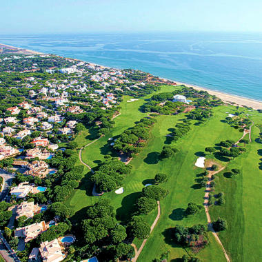 Partial aerial view of Vale do Lobo