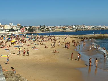 Beaches of Cascais, Estoril and Oeiras, west of Lisbon ...
