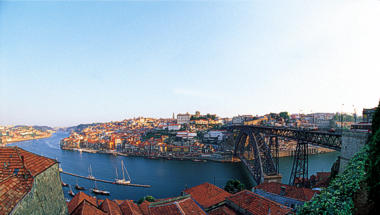 Porto, vista da margem sul do Douro