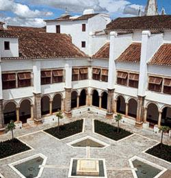 The Pousada's inner courtyard