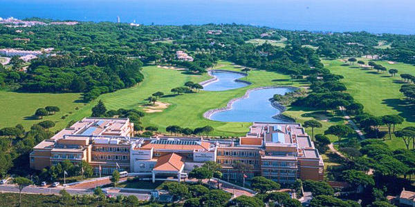Vista aérea do Hotel & Resort da Quinta da Marinha