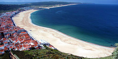 The village of Nazaré